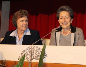 Sr. Carol Keehan and Flaminia Giovanelli