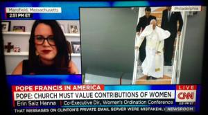 Erin Saiz Hanna on CNN