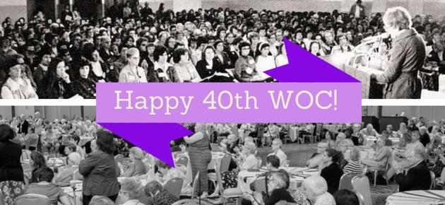 Celebrate WOC's 40th!